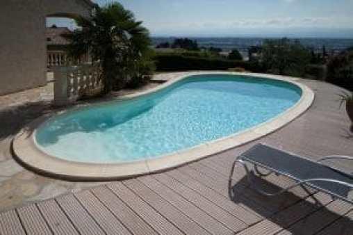 oválny bazén do zeme miami