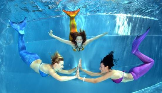 bazenova hra na morske vili
