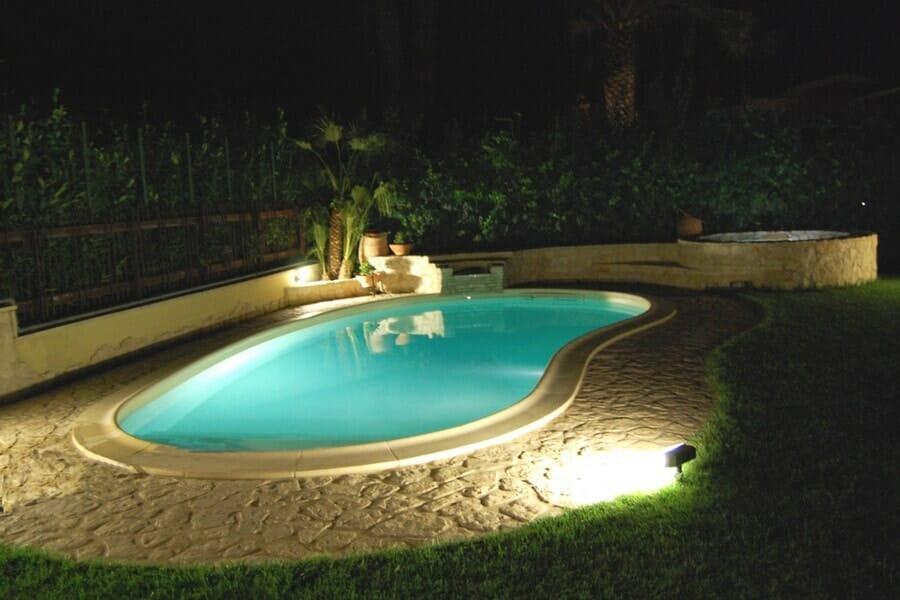 malý bazén miami na záhradu