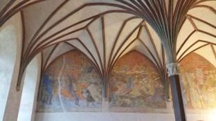 Malbork castle - inside - walls