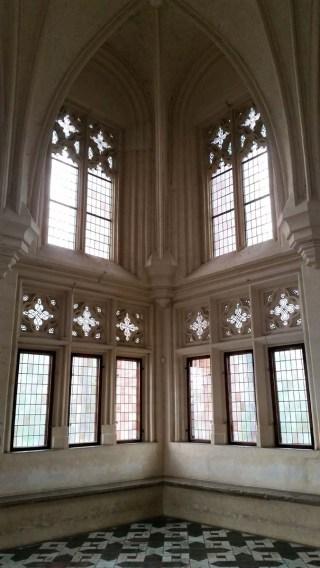 Malbork castle - inside - windows