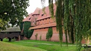 Malbork castle - outside