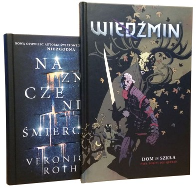 Carve the Mark & Witcher: House of glass