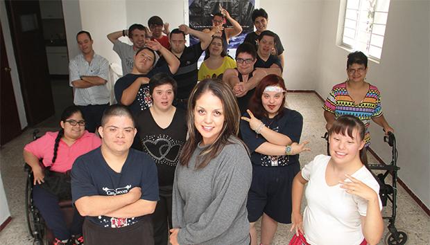 Integrantes de la compañía de danza Danza Aptitude. Fotos: Alfredo Moya