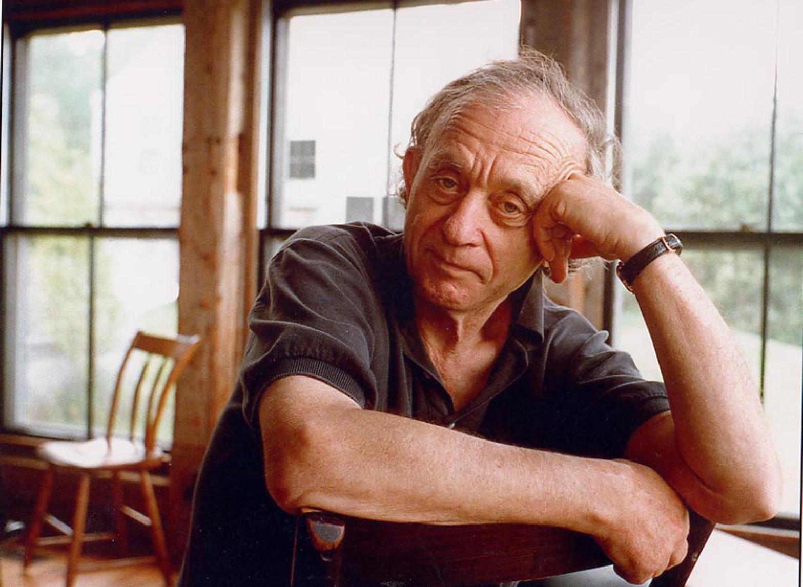 Retrato del director de cine Frederick Wiseman