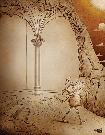 Ilustración por Yazz