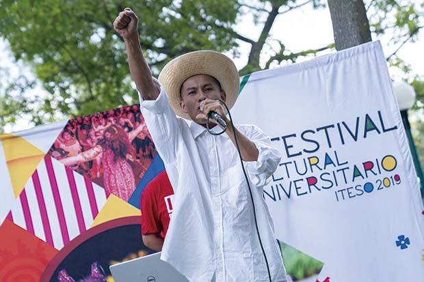 Sant participó en el Festival Cultural Universitario del ITESO en 2019. Fotos: Luis Ponciano