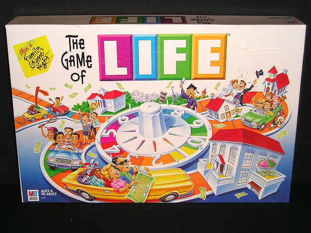 The Best Classic Board Games The Game Of Life Recycled