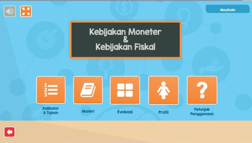 menu Aplikasi Interaktif Untuk Belajar