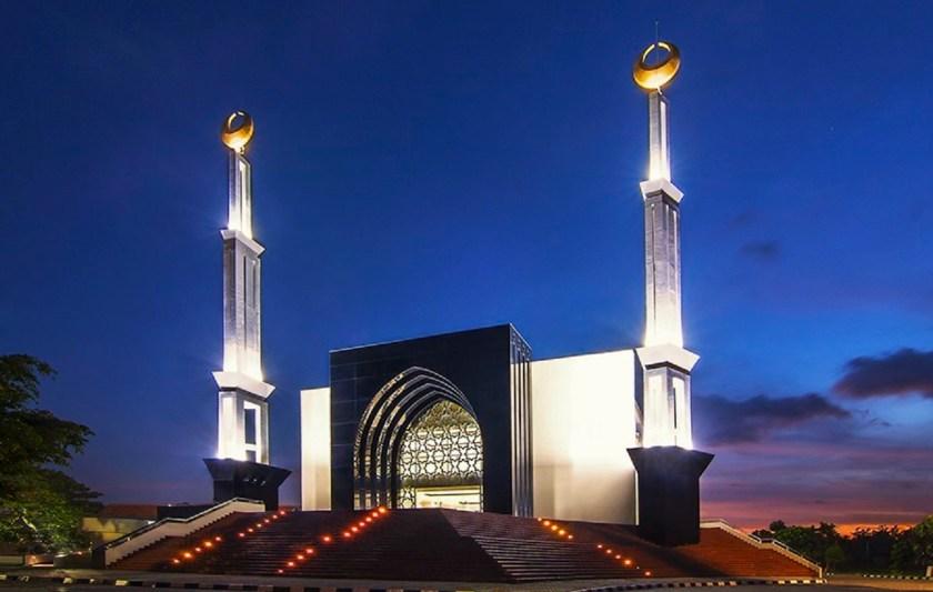 Masjid Konsep Minimalis Mediterania