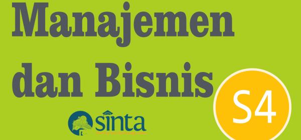 Jurnal Manajemen dan Bisnis Sinta 4