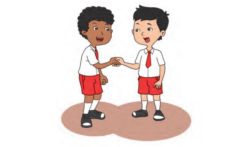 Kelas 1 Pelajaran 10 Perilaku Terpuji