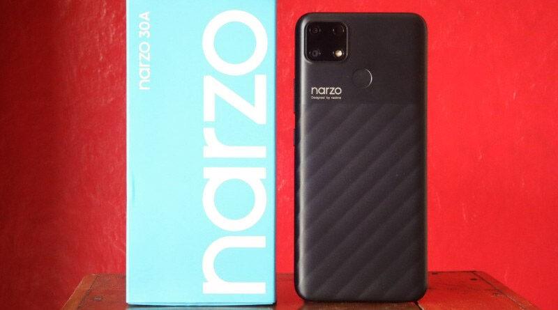 Review Hp Realme Narzo 30A