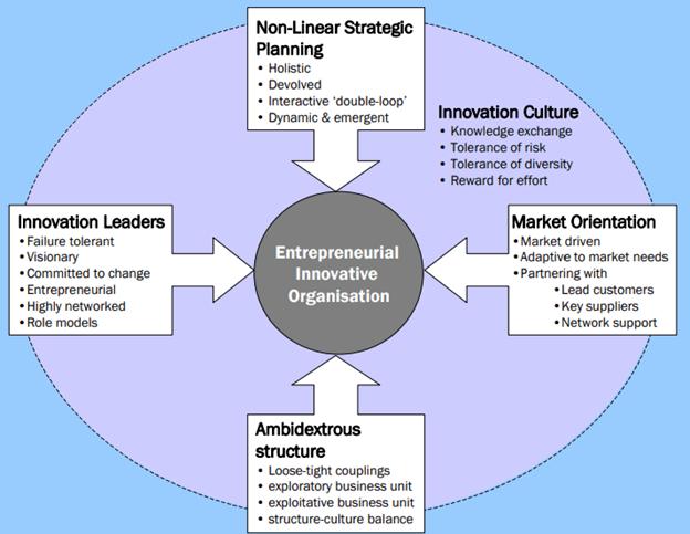 Kerangka Mazzarol Untuk Menciptakan Organisasi yang Inovatif