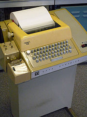 180px-Teletype_with_papertape_punch_and_reader