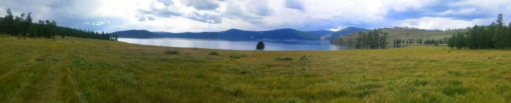 panoramique lac khovsgol mongolie