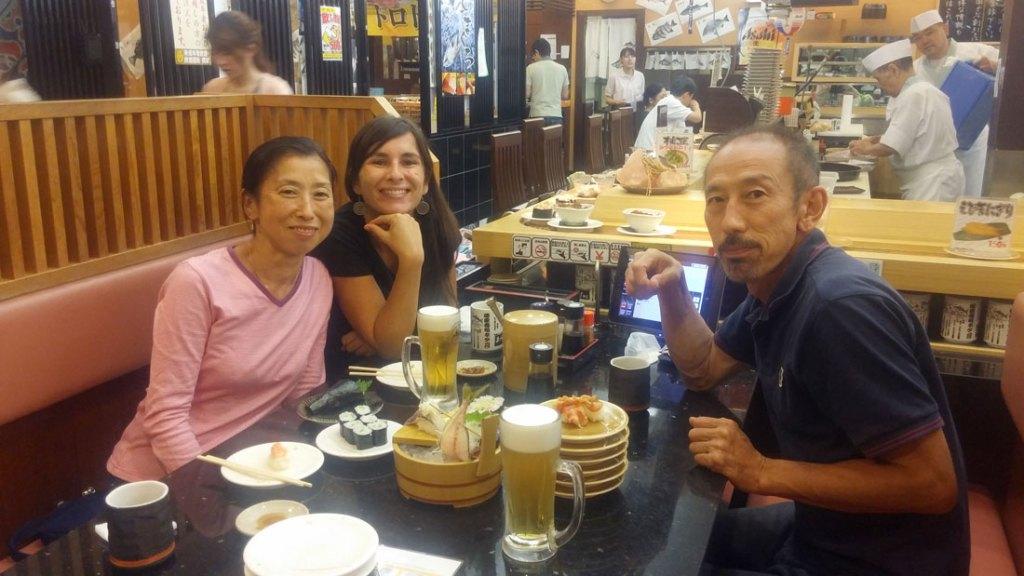 restaurant de sushis japon