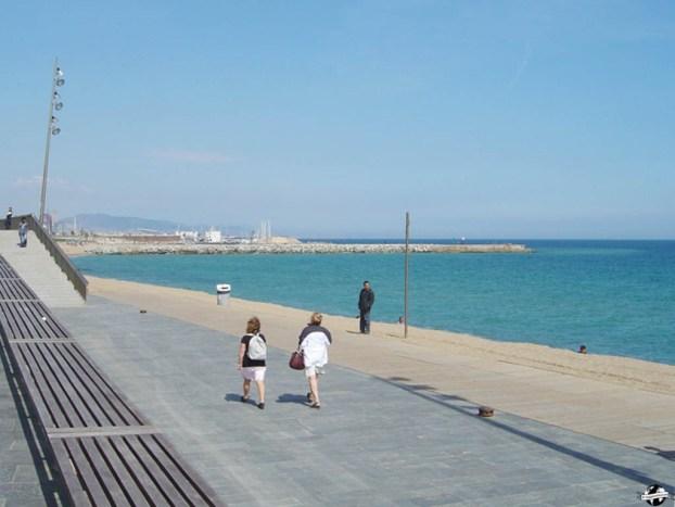visiter barcelone - plage