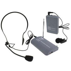 Microphone sans fil / microphone à pince / microphone à casque (SH-600)