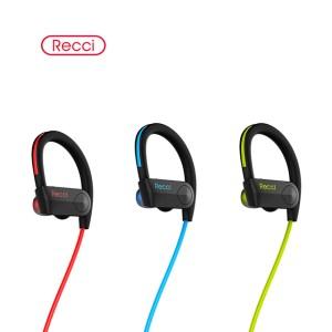 Recci hd sound in ear ear-hook bluetooth wireless earphone headphones headset