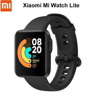 Xiaomi – montre connectée Mi Watch Lite, GPS, Bluetooth 5.1, 5atm, moniteur de fréquence cardiaque/sommeil, écran couleur 1.4 pouce
