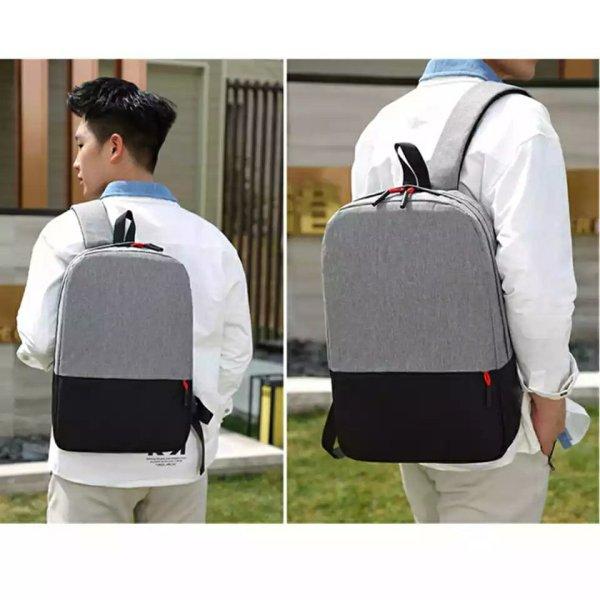 Sac à dos tendance coréenne, léger, port PC portable, tablette, lunettes, smartphone, simple pour l'école ou petit voyage.