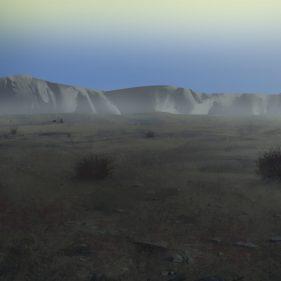 Methane tundra