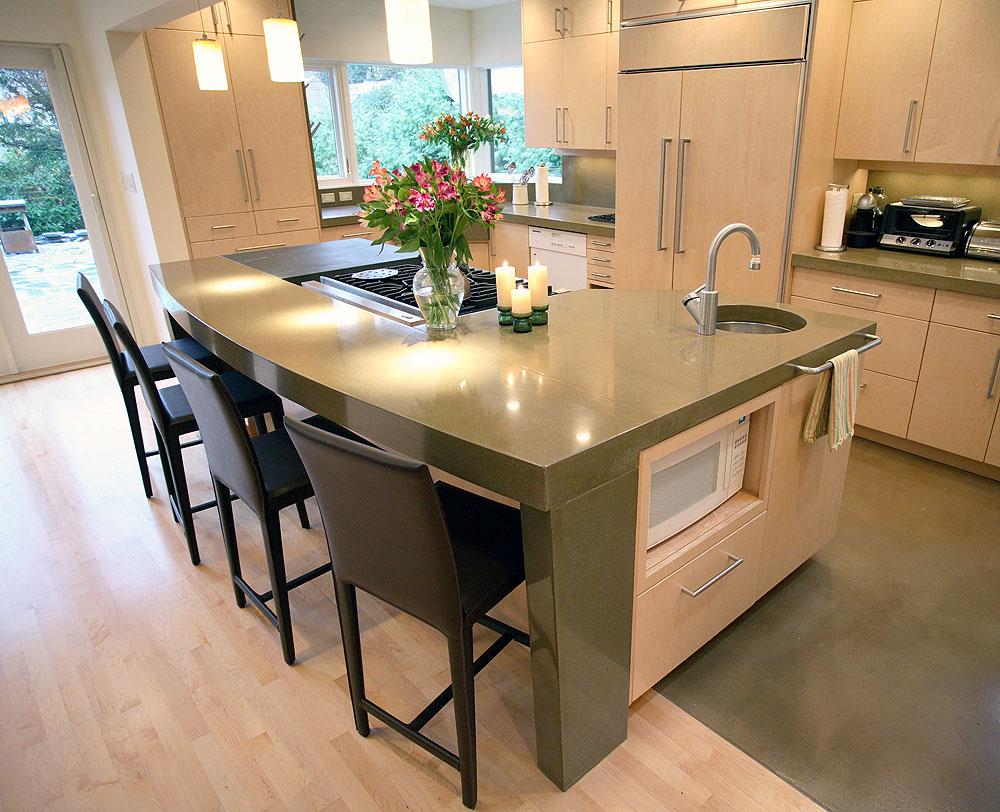 Kitchen Countertops designs ideas, Pictures & Photos on Kitchen Countertop Decor  id=63443