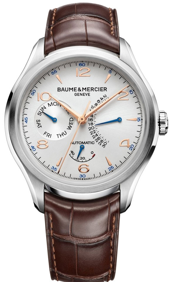 Baume & Mercier Clifton Retrograde Date (5 700 dollars)