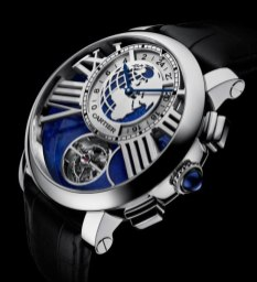 Cartier Earth Moon (200 000 euros)