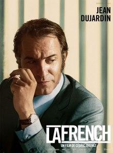 Montre L.U.C XPS Chopard en or blanc au poignet de Jean Dujardin