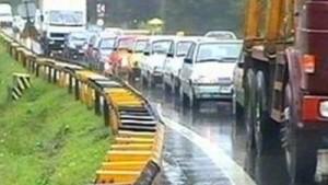 Trafic-ingreunat-pe-DN1--din-cauza-lucrarilor-la-drum