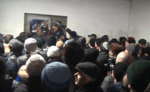 protestatari moldva