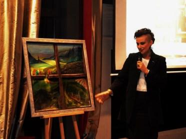 prezentare tablou repatriot, licitatie Bucuresti
