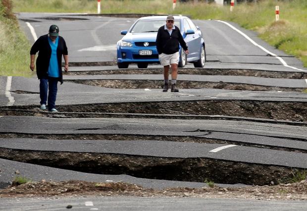 Noua Zeelandă Facebook: Noua Zeelandă, Zguduită De Un Nou Seism De Magnitudine 6,3