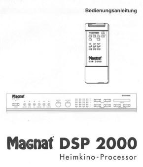 manual dsp-2000