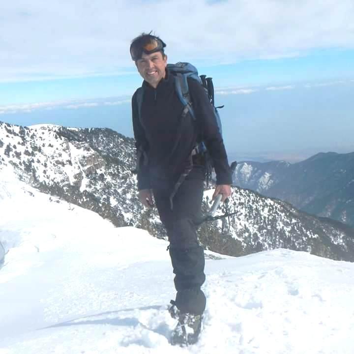 Σάκης Κατσαντώνης όρους Τσο Ογιού 8000 Skopelos