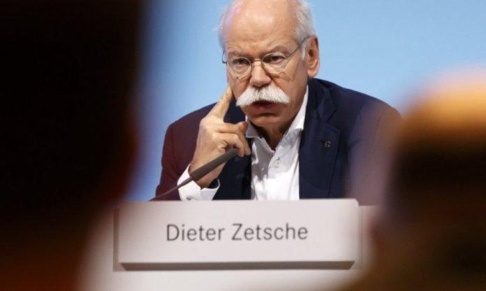 Dieter Zetsche Daimler Mercedes