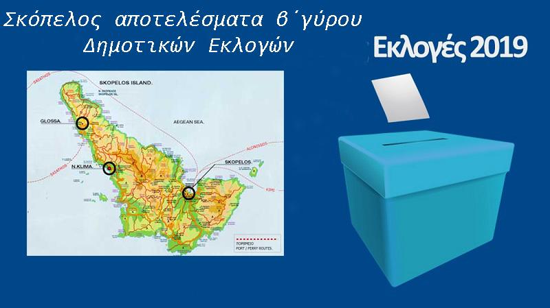 αποτελέσματα β΄γύρου Δημοτικών Εκλογών