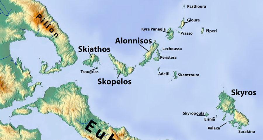 SPORADES MAP
