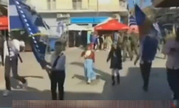 «Ξέχασαν» τον κορωνοϊό και… έκαναν παρέλαση (!) στα Γιαννιτσά