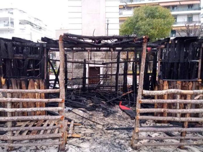Δήμος Βόλου: «Διπλό ημίχρονο, άσσο τελικό» για τους εμπρηστές της φάτνης στον Άγιο Νικόλαο