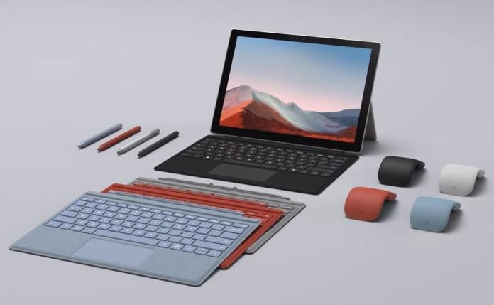"Surface Pro 7+: Επίσημα η ""νέα γενιά"" με μεγαλύτερη μπαταρία, αποσπώμενο SSD και LTE"