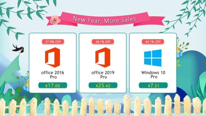 Αποκτήστε δημοφιλές λογισμικό Windows 10 Pro με €7