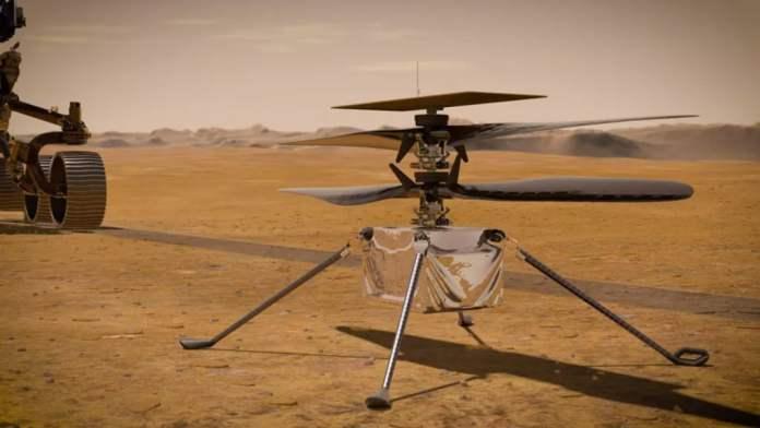 Επικοινώνησε με την Γη το ελικόπτερο Ingenuity που βρίσκεται στον πλανήτη Άρη