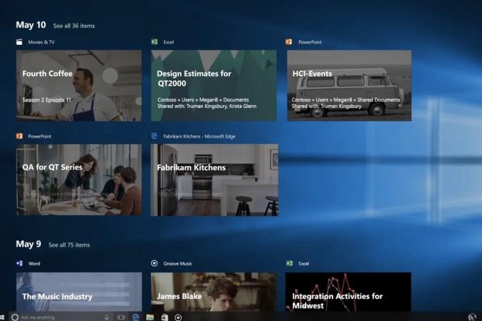 Πληροφορίες θέλουν το Windows Timeline να αλλάζει ριζικά