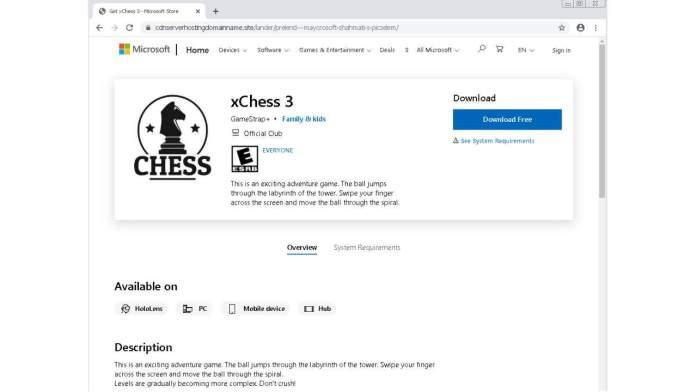 Προσοχή: Ψεύτικο Microsoft Store εγκαθιστά Malware