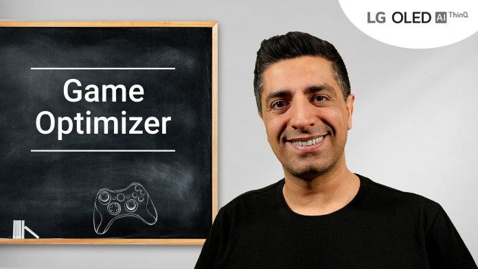 Tο Game Optimizer αναβαθμίζει τα γραφικά των Games στις νέες τηλεοράσεις LG OLED