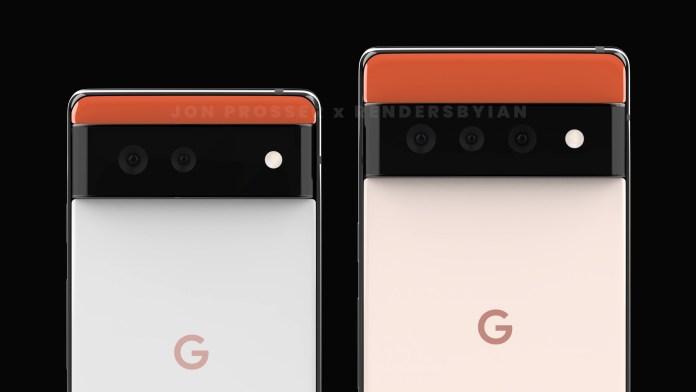Εντελώς διαφορετικός ο σχεδιασμός των Pixel 6 και 6 Pro