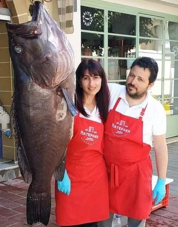 Έβγαλαν «ψάρι γίγαντα» 45 κιλών!